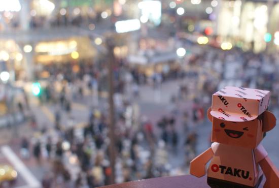 Otaku-san at Hachiko Square, Tokyo