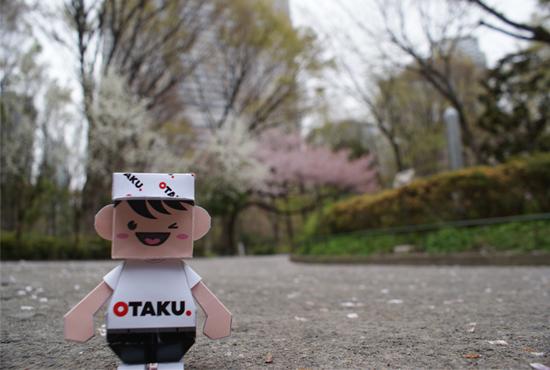 Otaku-san at Shinjuku Central Park, Tokyo