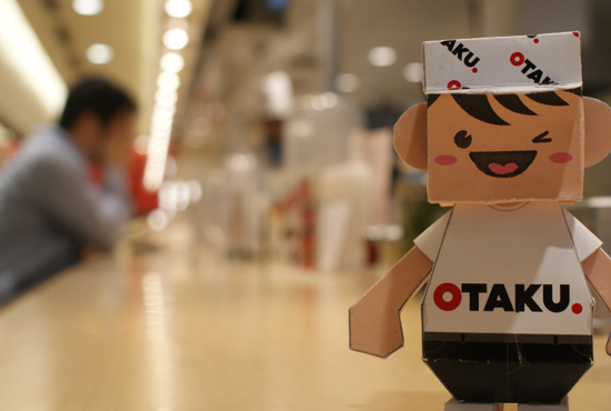Otaku-san stopping for lunch, Osaka