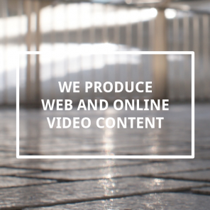 We produce web and online video content